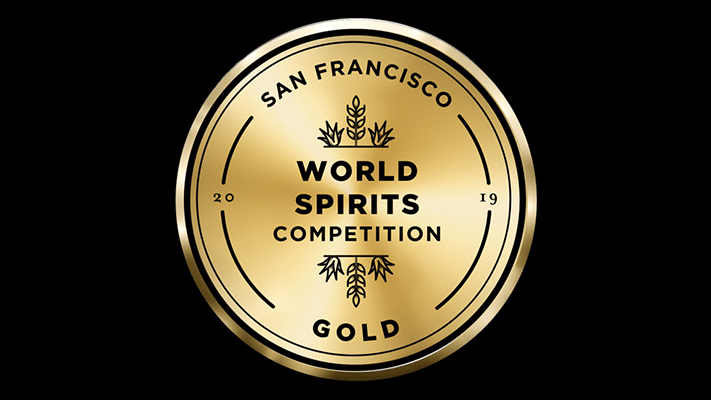 San Francisco World Spirit Competition 2019 Gold