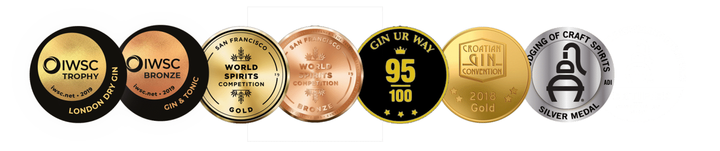 Old Pilot's Gin Awards