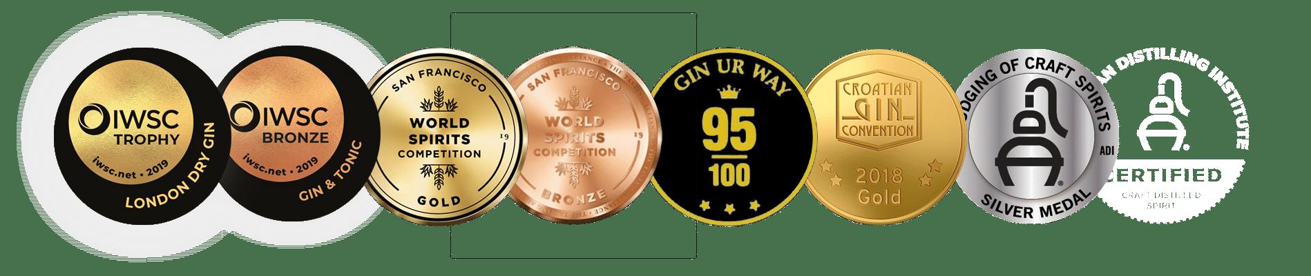 Old Pilot's Gin Awards