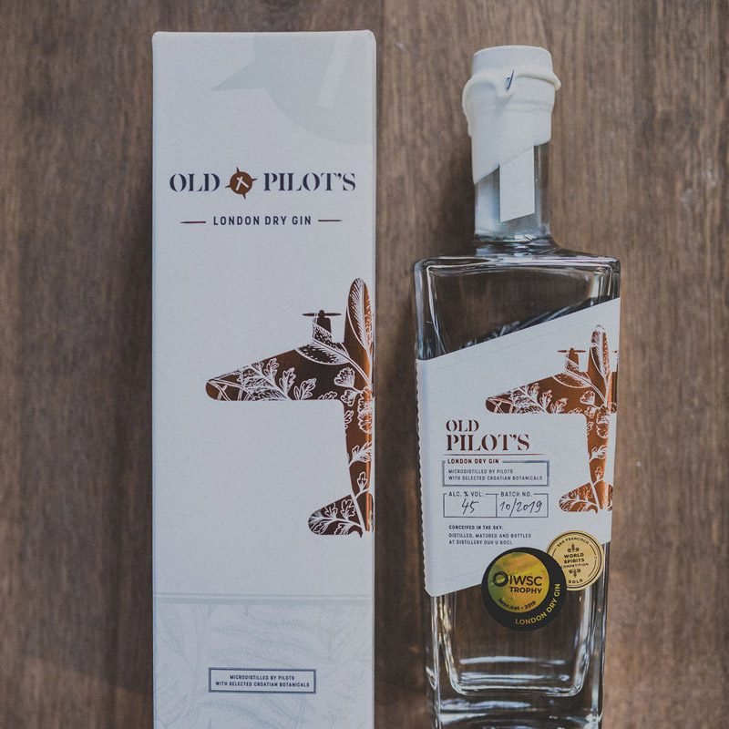 Old Pilot's - London Dry Gin u poklon kutiji