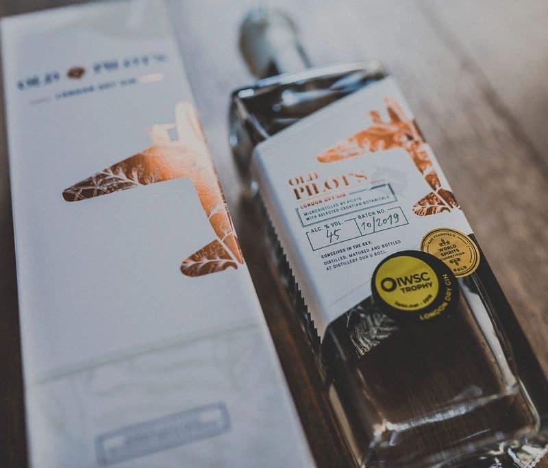 Old Pilot's - London Dry Gin u poklon kutiji