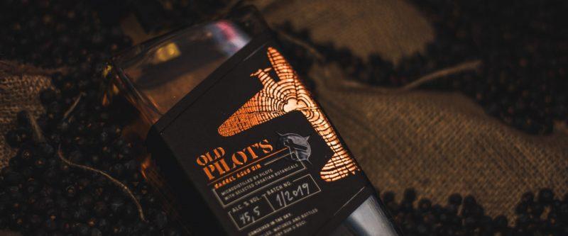 Barrel Aged Gin Old Pilot's