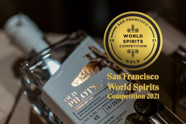 San Francisco World Spirits Competition 2021 - zlatna medalja