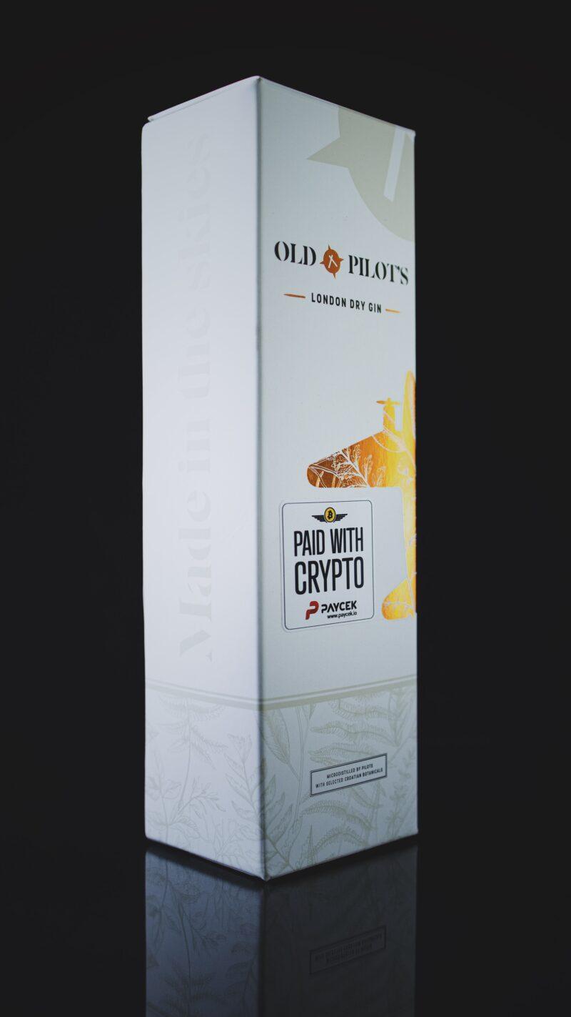 Old Pilot's London Dry džin - Crypto